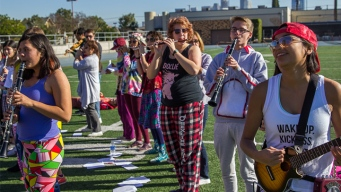 Stanford Band Prepared for Rose Parade