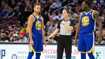 Curry Takes Another Stride in Recovery, But 'little Bit Concerning' With Draymond