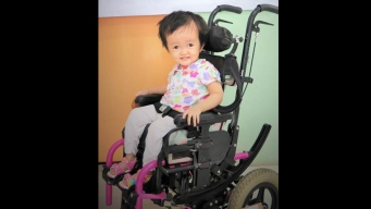 Custom Wheelchairs for Disabled Children Stolen