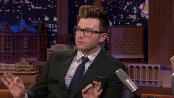 'Tonight': Fan Asked Chris Colfer to Autograph Baby