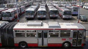 Muni Bus Service Suspended Due to World Series Revelry