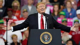 Trump Jokes About Impeachment on the Campaign Trail