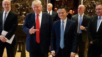 Alibaba CEO Talks Jobs With Trump