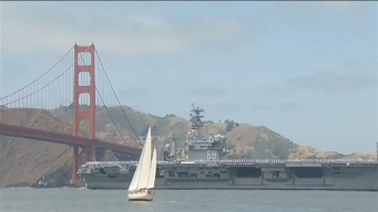 USS Nimitz Arrives in the San Francisco Bay