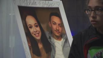 Young Couple Lost in Fire Honored With Candlelight Vigil