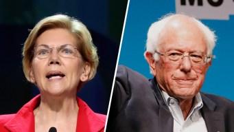 Warren Challenges Sanders for Progressives' Support