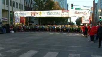 Thousands Flock to Silicon Valley Turkey Trot in San Jose