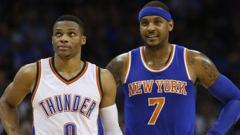 Report: Knicks Agree to Trade Carmelo Anthony to Thunder