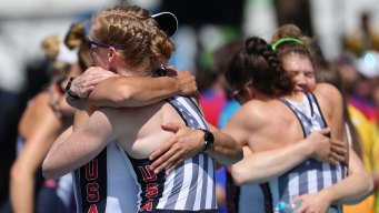 US Rowers Win 3rd Straight Olympic Gold in Women's Eight