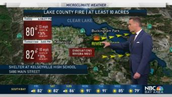 Jeff's Forecast: Lake County Fire & Shower Chance