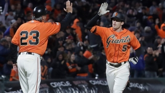 Finally Given His Chance, Mike Yastrzemski Is Starring for Giants