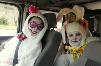 Safari West's Quirky Twist on the Egg Hunt