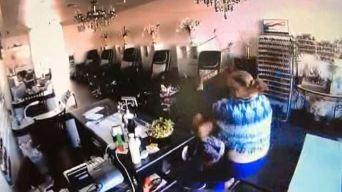 Sisters Fight Off Carjacking Suspect at Calif. Nail Salon, Video Shows