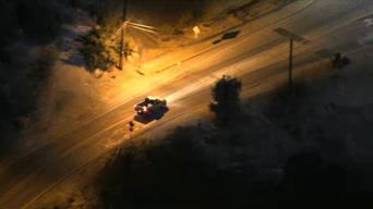 Pursuit Driver Disappears Into Subway Tunnel
