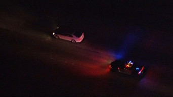 Police, CHP Pursue Car From Orange County to LA <br />