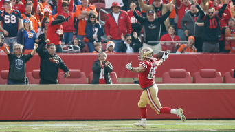 George Kittle's 85-Yard Touchdown Catch Helps Lift 49ers