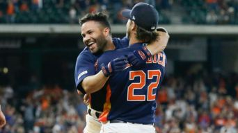 Astros Top A's 9-8 on Altuve's Bases-Loaded Walk in 9th