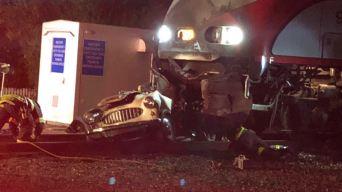 Caltrain Crashes into Stalled Vehicle in San Mateo County