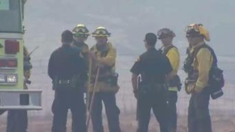 Crews Continue to Battle Atlas Fire in Solano County