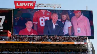 Battling ALS, Dwight Clark Happy to See 49ers Teammates