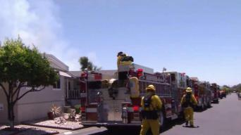 Firefighters Prevent Blaze From Damaging Fremont Mobile Home