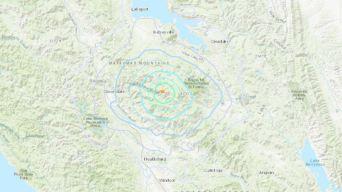 4.1 Magnitude Earthquake Strikes North of Healdsburg: USGS