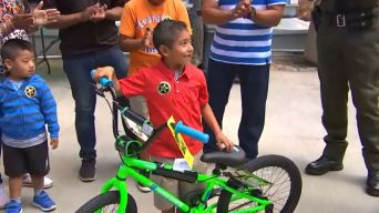 Deputies Surprise 6-Year-Old Hit-and-Run Victim With Bike