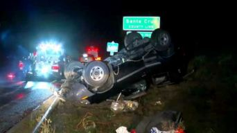 Rain, Wind Make for Messy Driving Conditions Across Bay Area