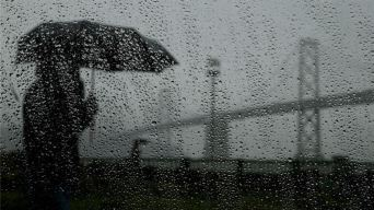 Scattered Rain, Gusty Winds Continue to Lash Bay Area