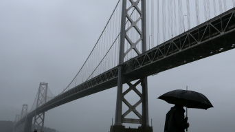 Relief on the Way: Rain to Help Clear Smoke From Bay Area