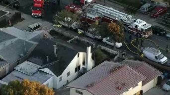 1 Dead, Several Displaced After Fire at San Mateo Home