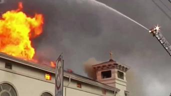 San Jose Rebuilds Burned Down Holy Cross Church