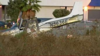Small Plane Crash in San Carlos