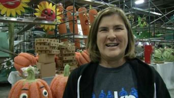 From Tubbs Fire to Rose Parade: Victim Helps Decorate Float