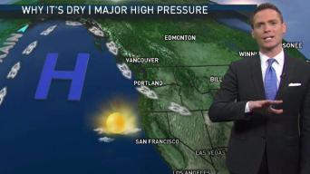 Jeff's Forecast: Dry & Sunny Trend