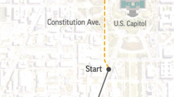 Follow the Inaugural Parade in Real Time