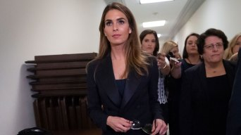House Democrats, White House Spar in Hope Hicks Interview