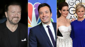 On Deck! Globe Host Fallon Ready to Follow Gervais, Fey