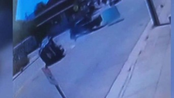 Surveillance Captures Family's SUV Flipping in Hit-and-Run