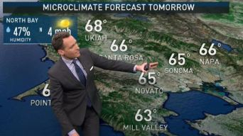 Jeff's Forecast: Mild; Increased Clouds