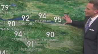 Jeff's Forecast: 60s to 90s & Carr Fire Update