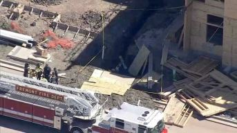 Person Hospitalized After Being Trapped in Trench in Fremont