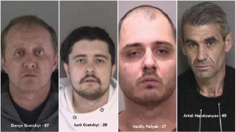 Fremont Police Arrest Four People for Debit Card Skimming