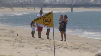 Sewage Spill Forces More Beach Closures