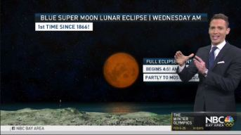 Jeff's Forecast: Mild Trend & Lunar Eclipse