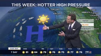 Jeff's Forecast: 60s to 90s & Poor Air Quality