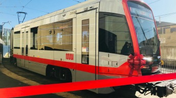 First New Muni Train Goes Into Service in San Francisco