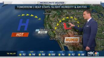 Jeff's Forecast: Heat and Fire Near Shasta
