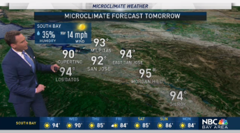Jeff's Forecast: AM Fog, Inland Heat and Hot 90s