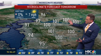 Jeff's Forecast: Wednesday Heat; Much Cooler Ahead